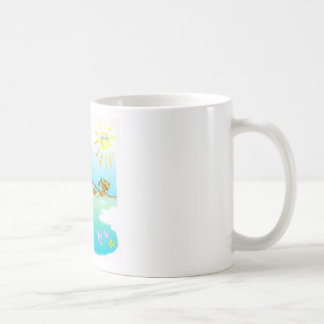 Cool swiiming gifts for kids mug