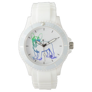Cool Welpe Uhr