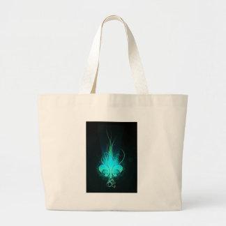 cool zeichnen Sie Blume lis Einkaufstaschen