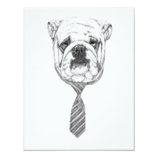 cooldog 10,8 x 14 cm einladungskarte