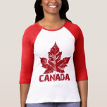 Coole Ahorn-Blatt-Andenken Kanadas Jersey Retro Hemd