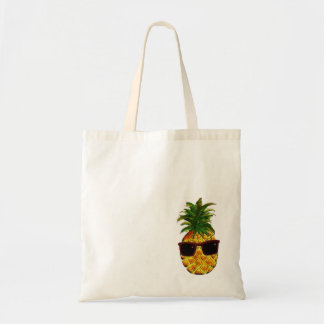 Coole Ananas Budget Stoffbeutel