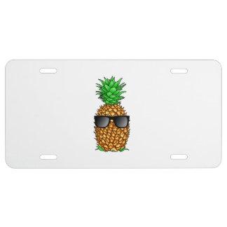 Coole Ananas US Nummernschild