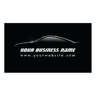 Coole Auto-Kontur-Auto-Reparaturgeschäftskarte Visitenkartenvorlage