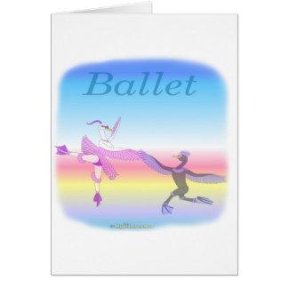 Coole Ballett gifs für Kinder Karten