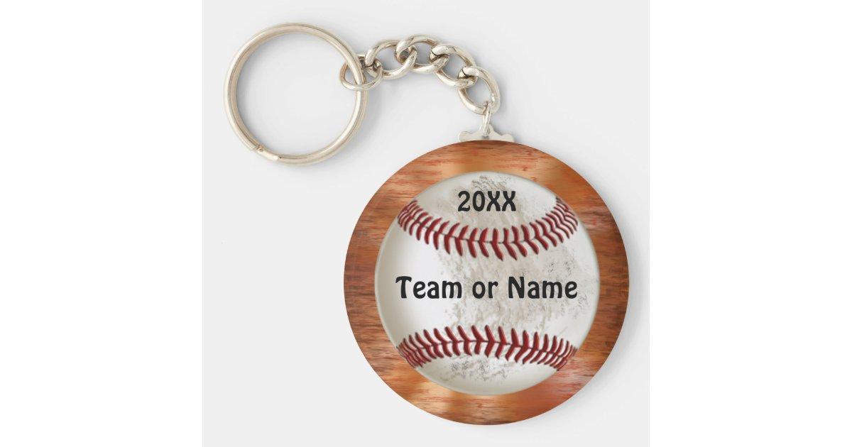 Coole Baseball-Geschenke für Spieler TEAM-NAMEN Schlüsselanhänger ...