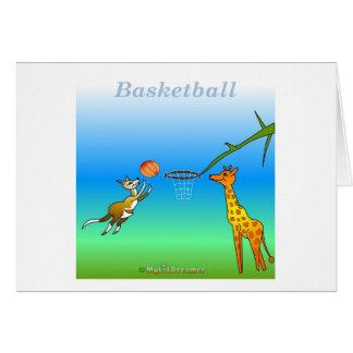 Coole Basketballgeschenke für Kinder Grußkarte