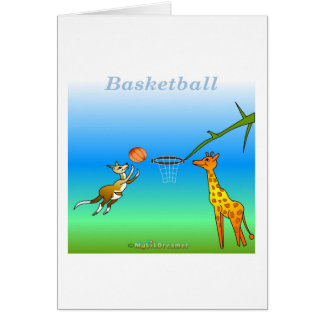 Coole Basketballgeschenke für Kinder Karte