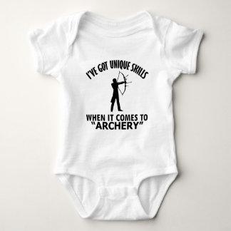 coole Bogenschießen ENTWÜRFE Baby Strampler