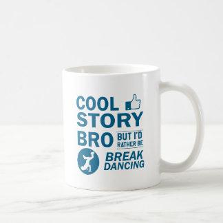 Coole Breakdanceentwürfe Kaffeetasse