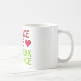 Coole Bruchtanzentwürfe Kaffeetasse