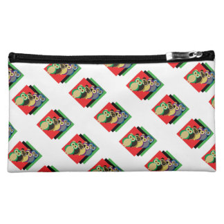 Coole bunte Eulen Cosmetic Bag