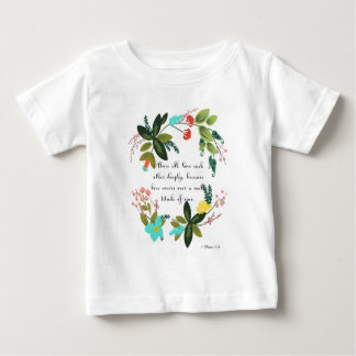 Coole christliche Kunst - 1 Peter-4:8 Baby T-shirt