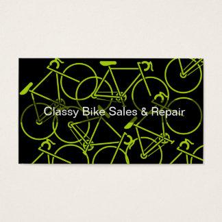 Coole Fahrrad-Thema-Geschäfts-Karten Visitenkarten