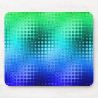 Coole Farbpunktematrix Mousepad