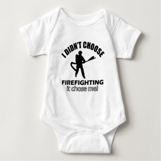 Coole Firefightentwürfe Baby Strampler