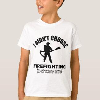 Coole Firefightentwürfe T-Shirt