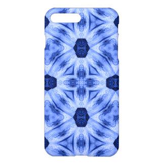 Coole Formen des blauen Musters iPhone 8 Plus/7 Plus Hülle