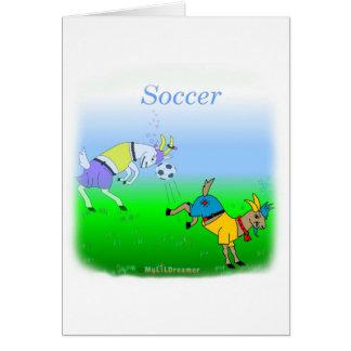 Coole Fußballgeschenke für Kinder Grußkarte