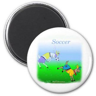 Coole Fußballgeschenke für Kinder Kühlschrankmagnet
