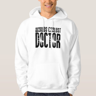 Coole Geschenke für Doktoren: Weltcoolster Doktor Kapuzenpullis
