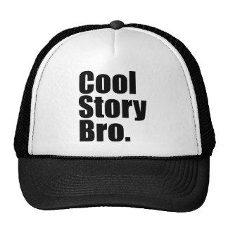 Coole Geschichte Bro. Hut Netz Caps
