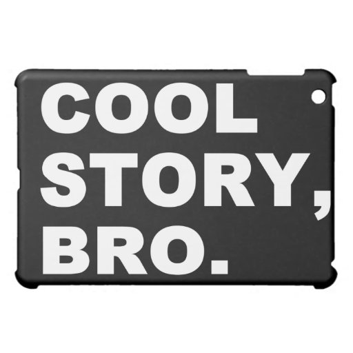 Coole Geschichte Bro iPad Mini Cover