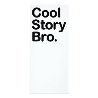 Coole Geschichte Bro. Sagen Sie ihm wieder 10,2 X 23,5 Cm Einladungskarte