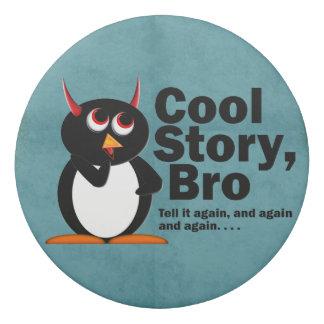 Coole Geschichteschlechte Penguinradiergummi Radiergummi