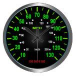 Coole Geschwindigkeitsmesser-Uhr Uhr