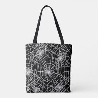 Coole gespenstische Spinnen-Netze Tasche