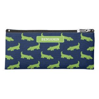 Coole grüne Alligatoren Stiftetasche
