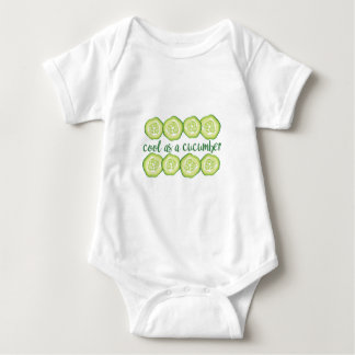 Coole Gurke Baby Strampler