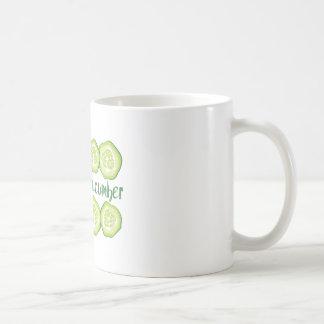 Coole Gurke Kaffeetasse