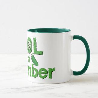 Coole Gurken-Tasse - wählen Sie Art u. Farbe Tasse