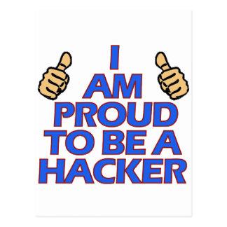 coole Hackerentwürfe Postkarte