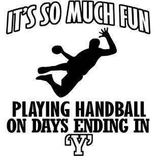 Handball Geschenkpapiere Zazzlede