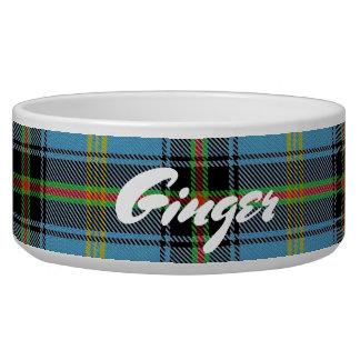 Coole Haustier-schottischer Clan-BellTartan Napf
