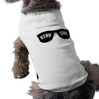 COOLE Haustierkleidung des AUFENTHALTS - wählen Si Shirt