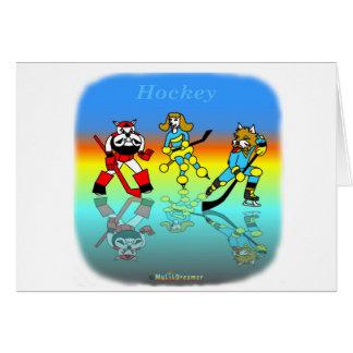 Coole Hockeygeschenke für Kinder Karte