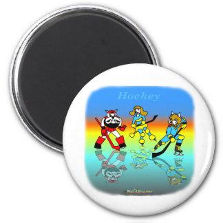 Coole Hockeygeschenke für Kinder Magnets