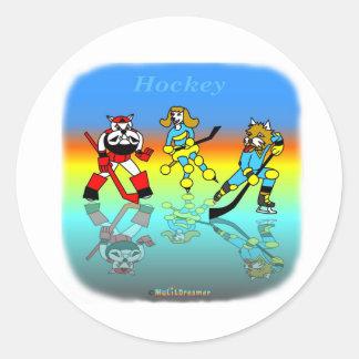 Coole Hockeygeschenke für Kinder Stickers