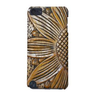Coole Imitat-hölzerne Sonnenblume-hölzernes iPod Touch 5G Hülle