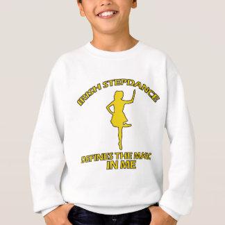 coole irische Schritttanzentwürfe Sweatshirt
