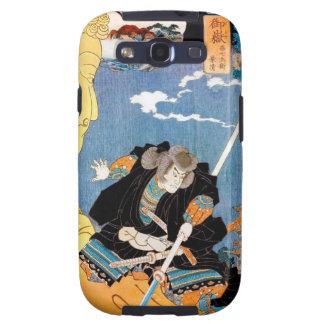 Coole japanische legendäre Heldkrieger-Samuraikuns Samsung Galaxy S3 Schutzhülle