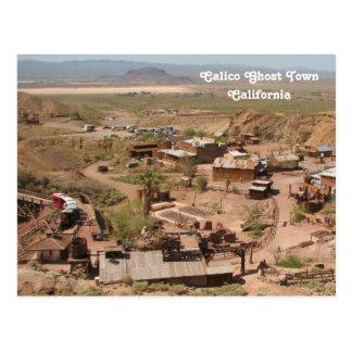 Coole Kaliko-Geist-Stadtpostkarte! Postkarte