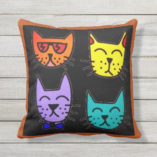 Coole Katzen Kissen