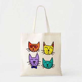 Coole Katzen Tragetasche