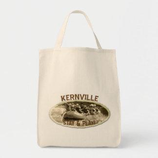 Coole Kernville Lebensmittelgeschäft-Tasche! Tragetasche