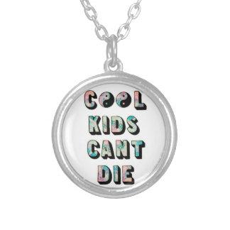 Coole Kinder können nicht die Halskette Mit Rundem Anhänger